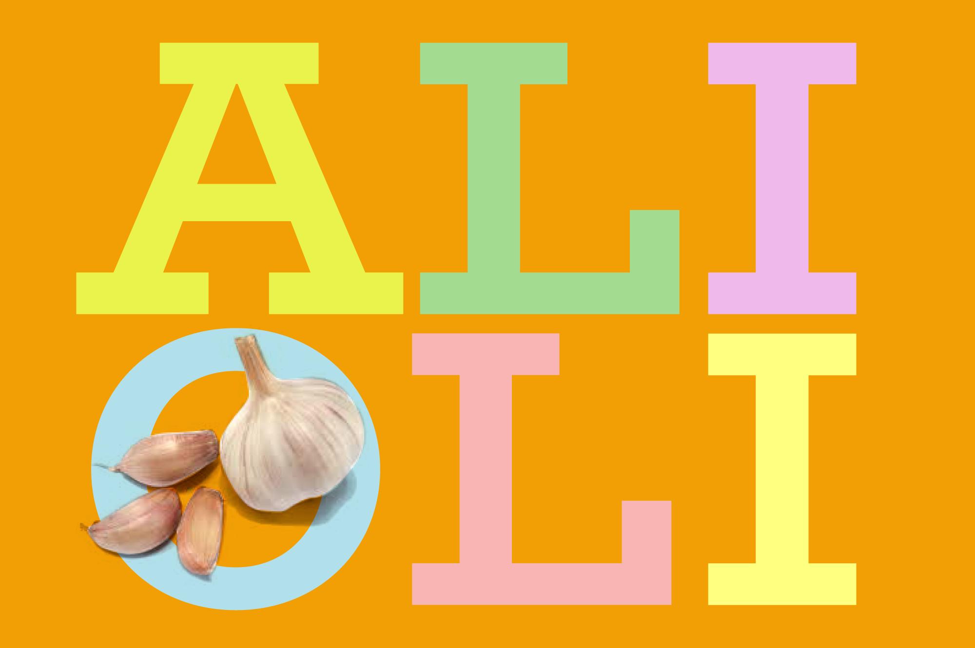 Alioli - garlic mayonnaise