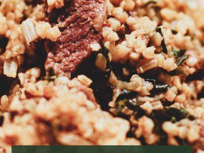 Turkish Lamb & Bulgur Wheat Pilaf
