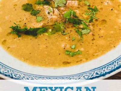 Mexican Chicken and Sweetcorn Soup