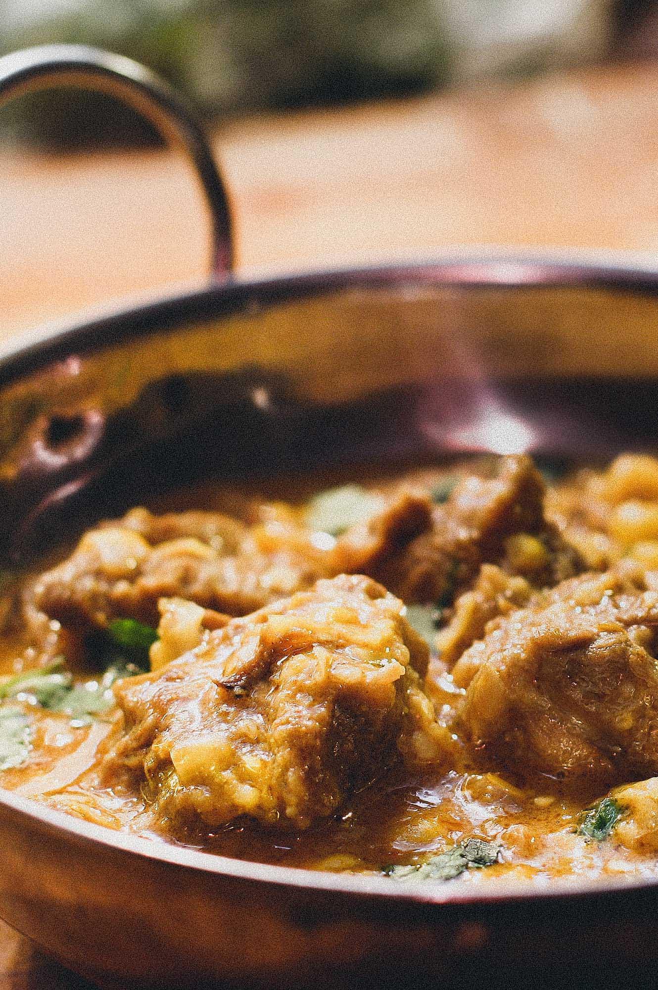 Rajasthani Lamb & Sweetcorn Curry