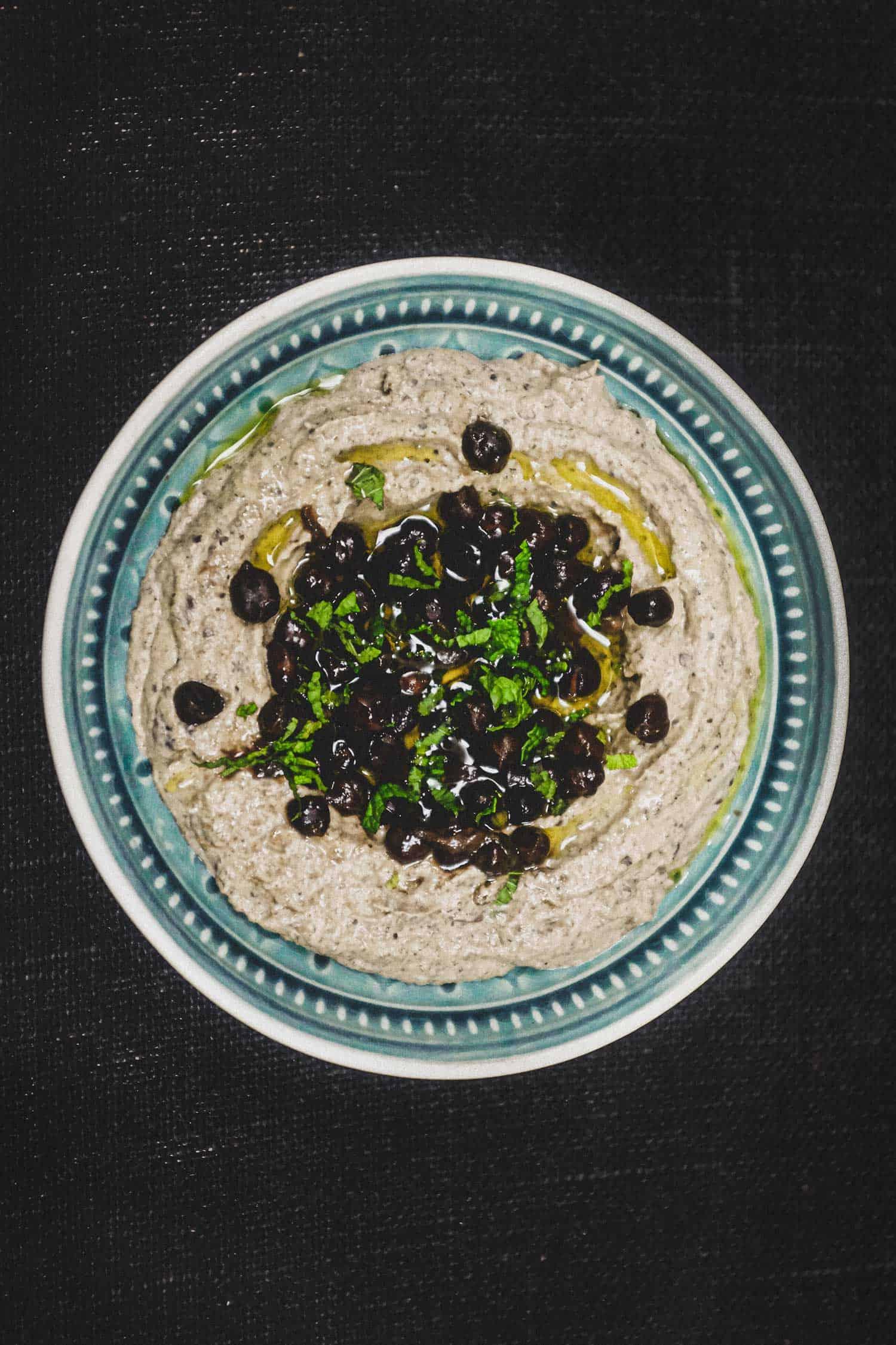 Black Hummus
