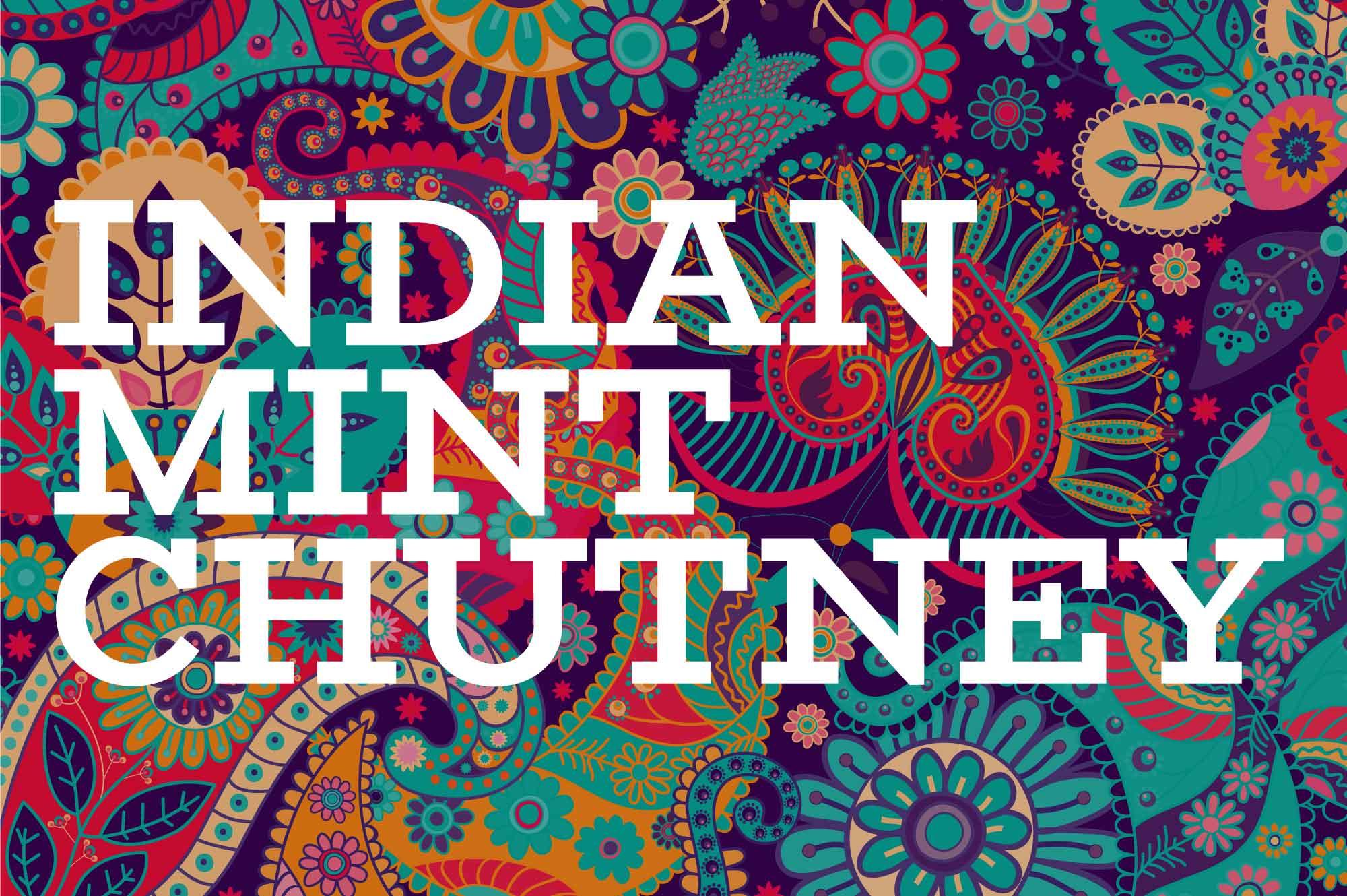 Indian Mint Chutney