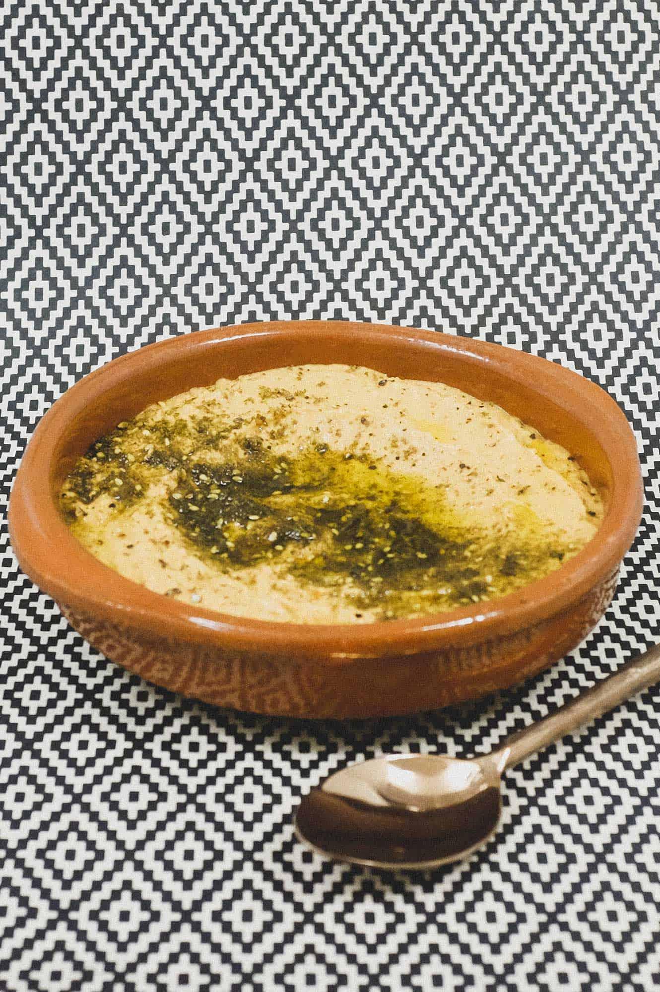 Harissa Hummus with Za'atar