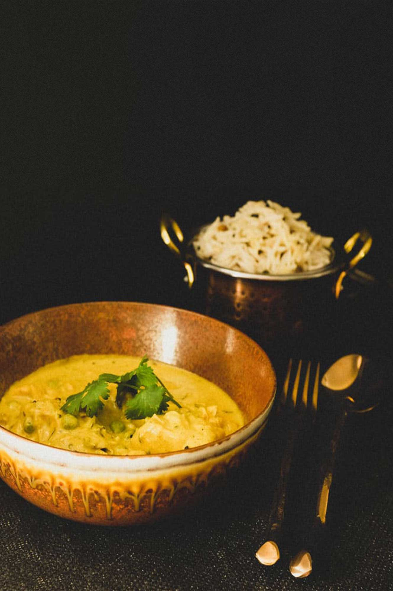 South Indian Salmon Curry