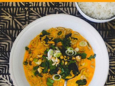 Thai Yellow Curry with Minced Pork