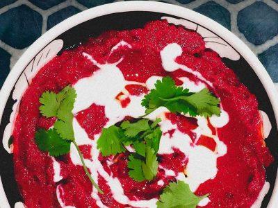 Turkish Beetroot & Yoghurt Dip