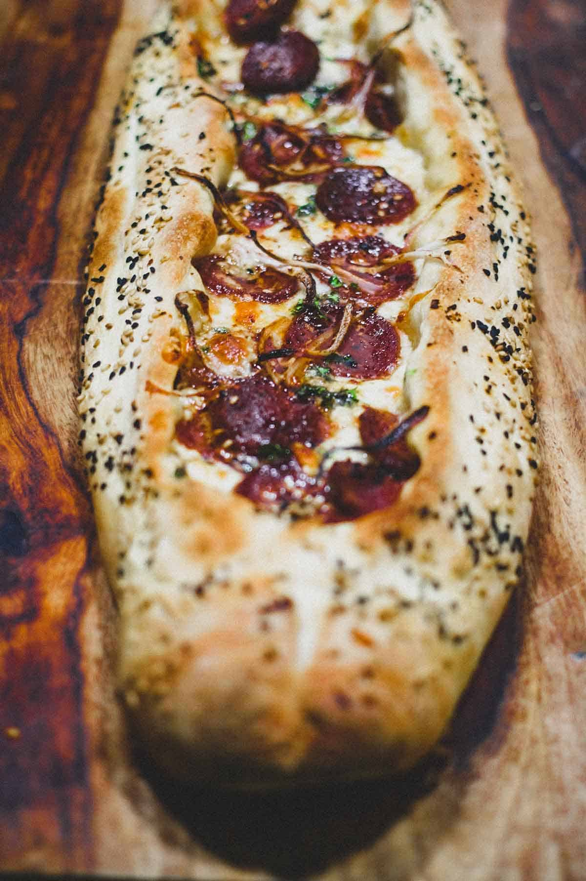 Turkish Pide - It's not pizza, it's pide!