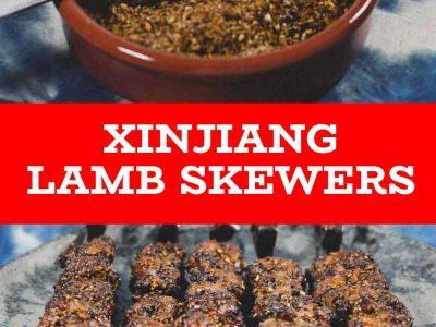 Chinese Xinjiang Lamb Skewers