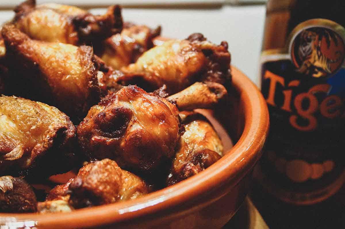 Tiger Beer Chicken wings