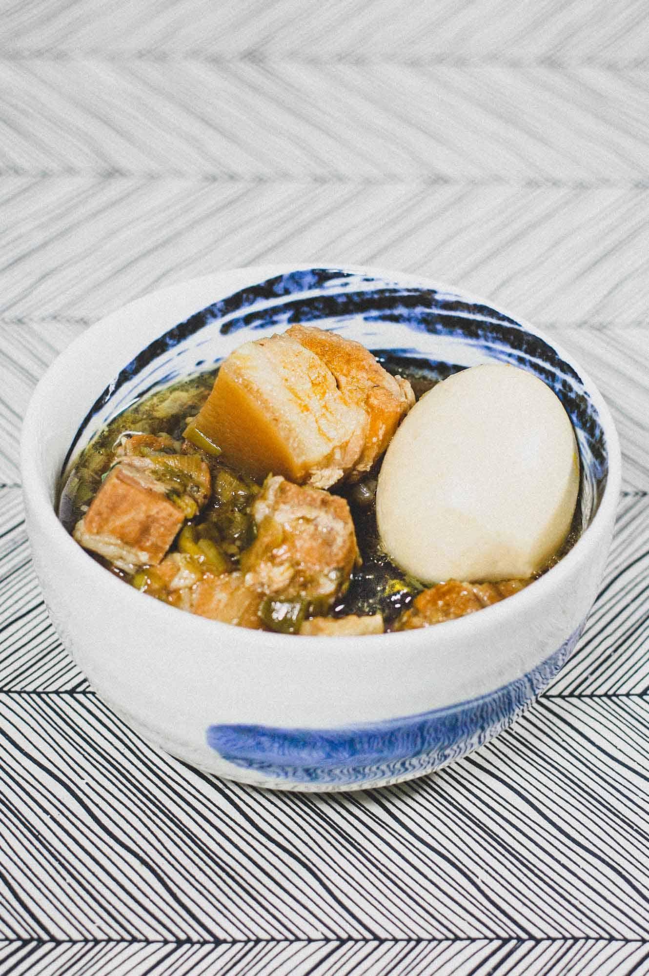 Vietnamese Braised Pork Belly with Eggs - Thit Kho