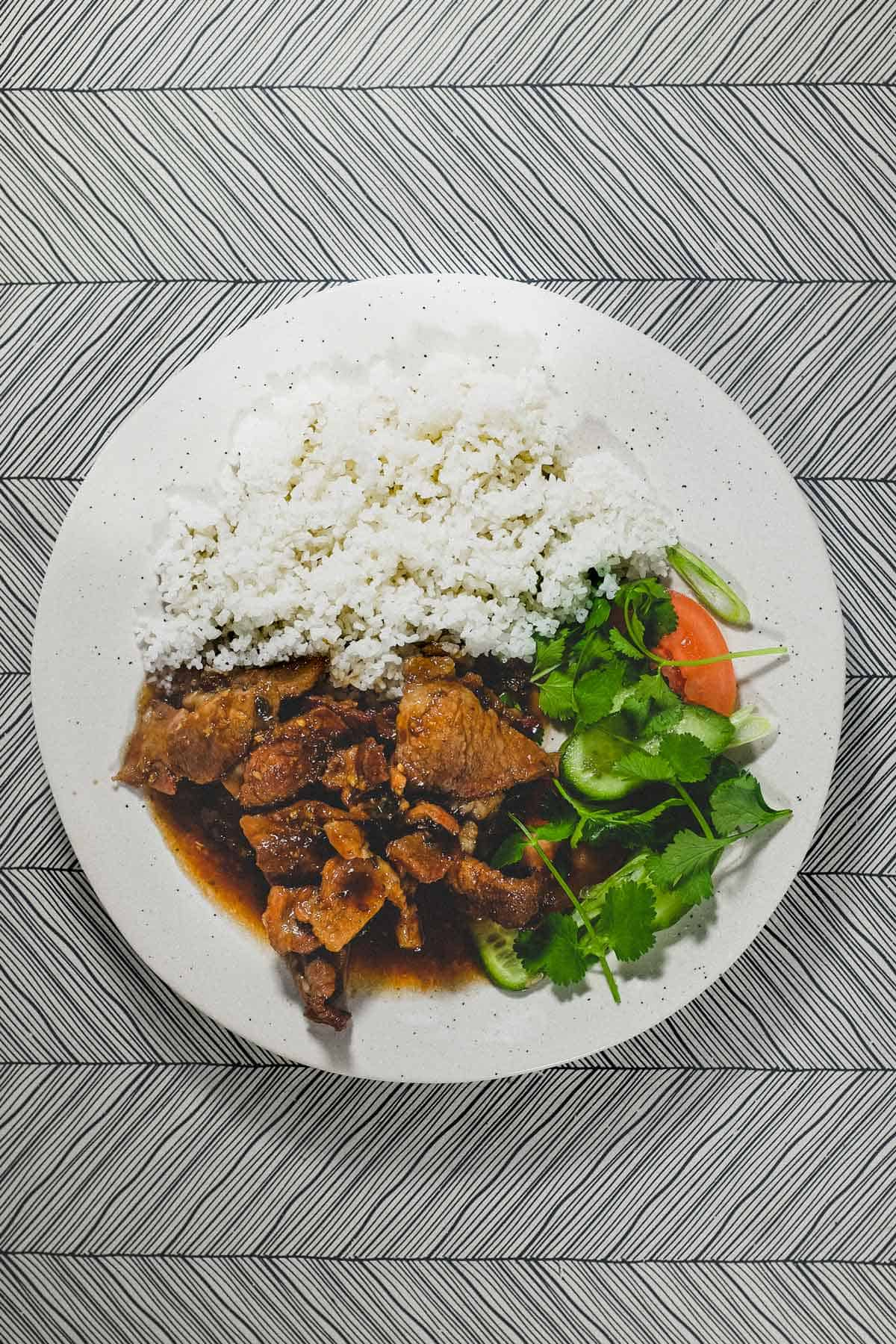 Vietnamese Pork with Lemongrass & Chilli