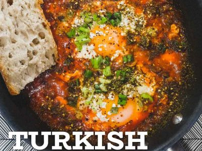 Turkish Menemen Breakfast Eggs