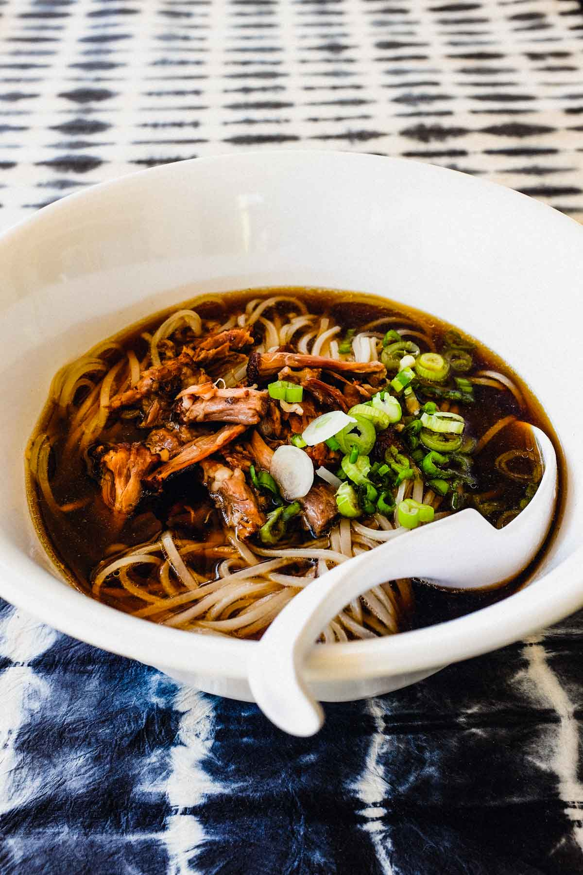 Chinese Oxtail Noodle Soup