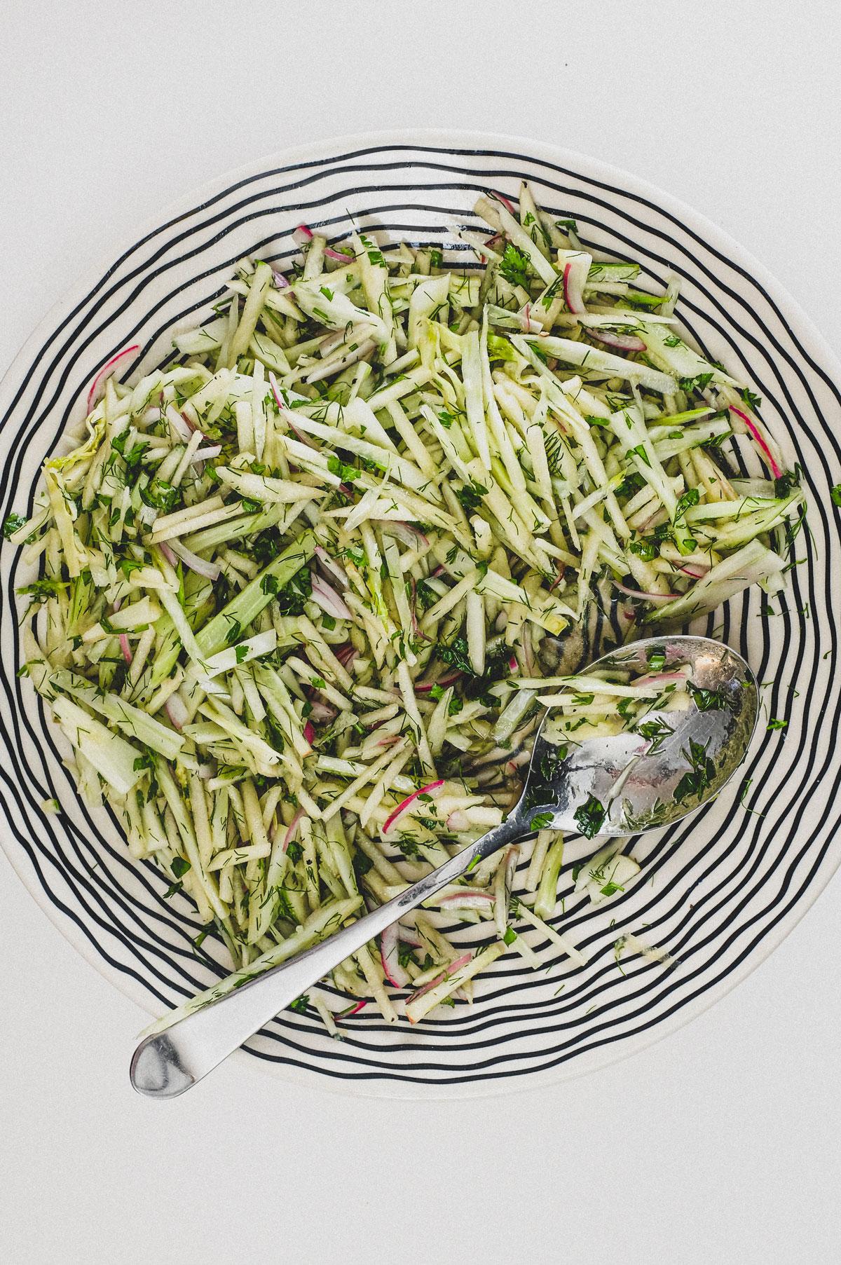 Fennel & Apple Salad