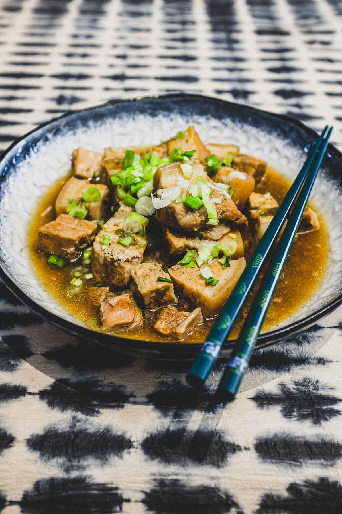 Chinese Braised Pork Belly (Instant Pot Style)