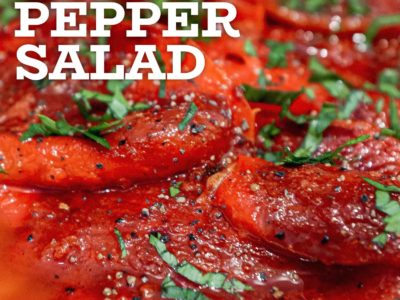 Spanish Roasted Red Peppers