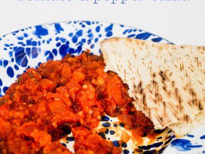 Moroccan Matbucha - Tomato & Pepper Salad