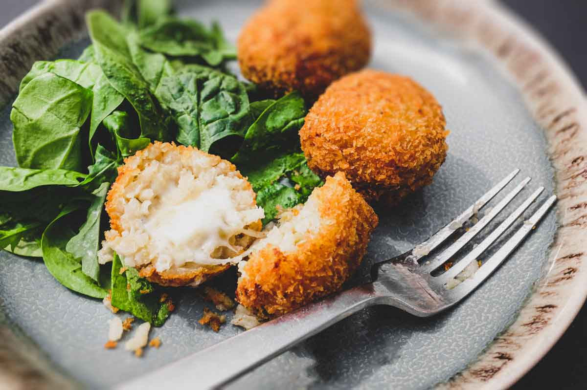 Suppli (Italian Rice Balls)   cookeatblog.com
