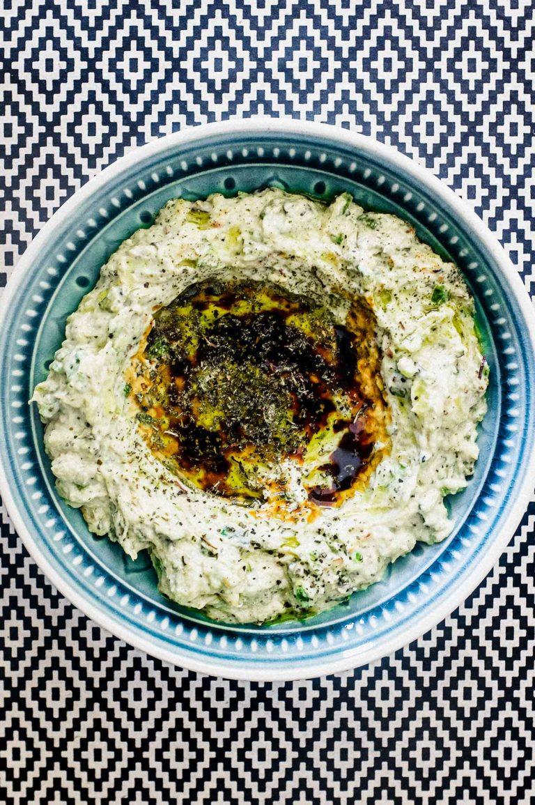 Zucchini & Tahini Salad