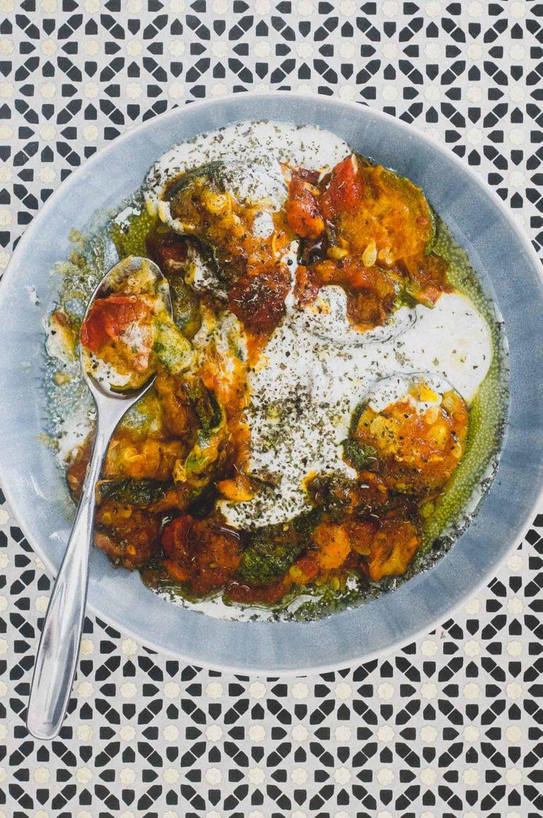 Borani Kadoo (Afghani Squash Salad)