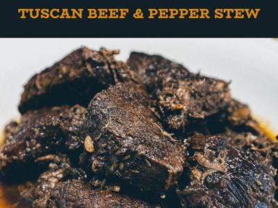 Peposo Alla Fornacina (Tuscan Beef & Black Pepper Stew)