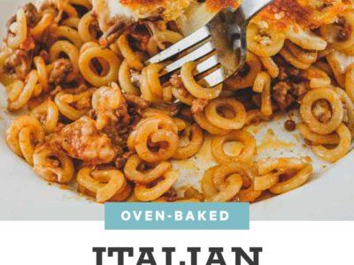 Anelletti Al Forno - Oven Baked Pasta Rings   cookeatblog.com