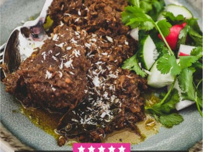 Malaysian Rendang - a title image for more Malaysian Curry recipes.