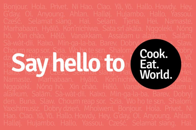 We've changed our name from cookeatblog to cookeatworld