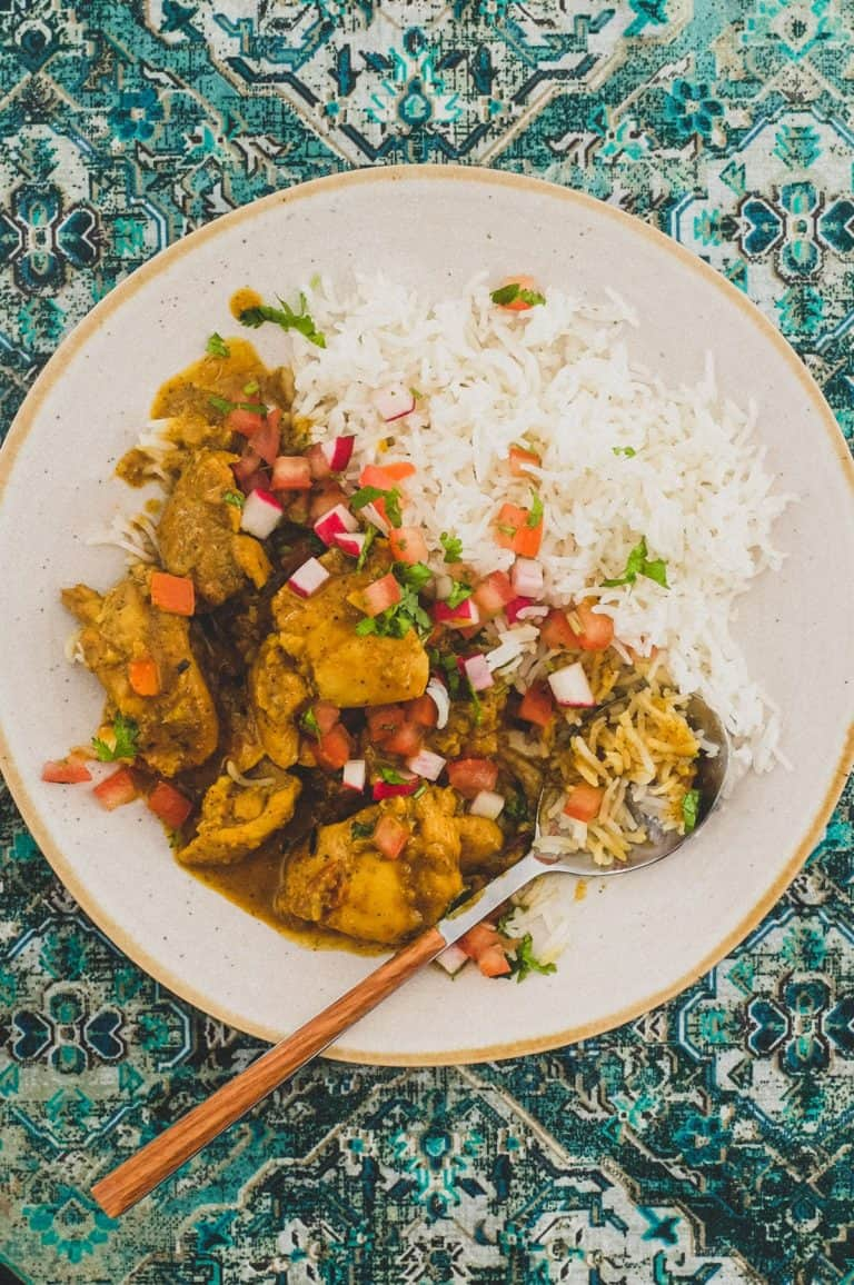 Indian Black Pepper Chicken Curry